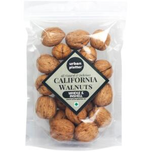 Urban Platter California In Shell Walnuts, 850g [All Natural, Rich in Omega-3 fatty Acids, Akhrot]