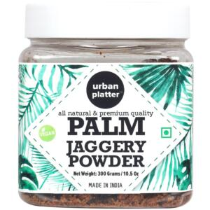 Urban Platter Palm Jaggery Powder, 300g [All Natural & Premium Quality]