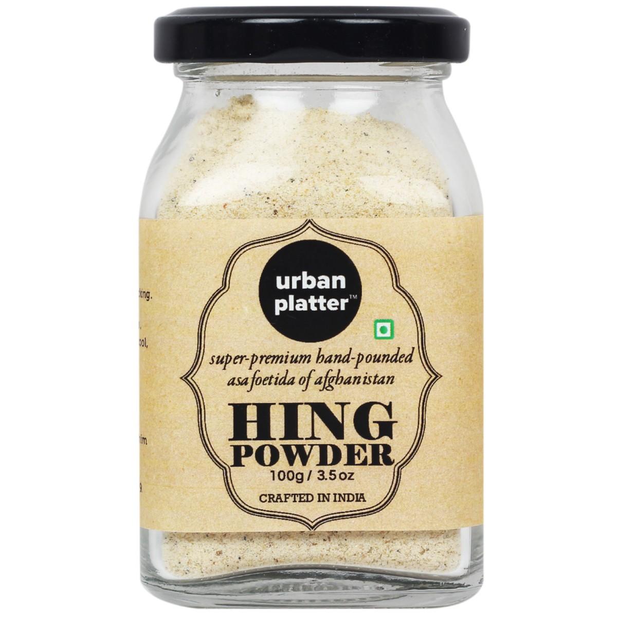 Urban Platter Pure Afghan Asafoetida (Hing) Powder, 100g