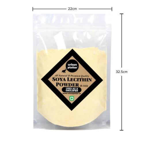 Urban Platter Soy Lecithin Powder (E322), 1Kg [HoReCa Pack]