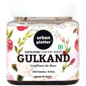 Urban Platter Natural Himalayan Gulkand (Rose Petal Jam), 250g