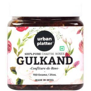 Urban Platter Natural Himalayan Gulkand (Rose Petal Jam), 700g