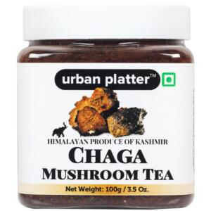 Urban Platter Chaga Mushroom Tea, 100g [Himalayan Produce of Kashmir]