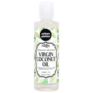 Urban Platter Virgin Coconut Oil, 200ml [All Natural, Pristine and Pure]