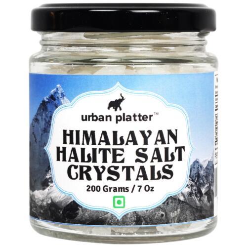 Urban Platter Himalayan White Halite Salt Crystals, 200g