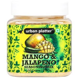 Urban Platter Mango and Jalapeno Seasoning Mix, 150g [Sweet, Tangy and Irresistible]