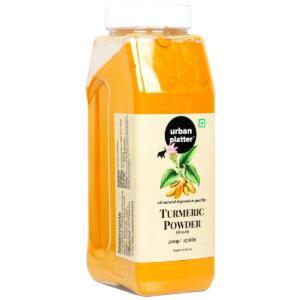 Urban Platter Turmeric (Haldi) Powder Shaker Jar, 500g