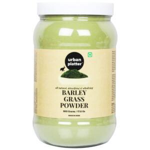 Urban Platter Barley Grass Powder, 500g [Detoxifying and Alkalizing (Bulk Pack)]