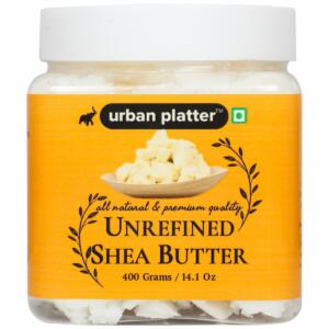 Urban Platter Unrefined Shea butter, 400g [All Natural & Premium Quality]
