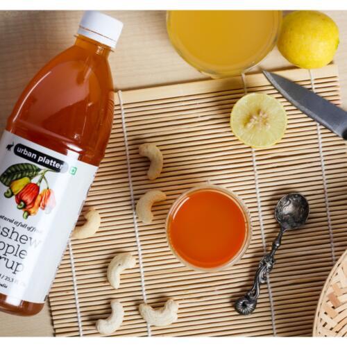 Urban Platter Cashew Apple Syrup, 750ml [All Natural & Full Of Fruit, Full Of Vitamin C]