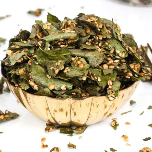 Urban Platter Kadipatta Mukhwas, 200g [Paan, Mouth Freshner, Curry Leaves]