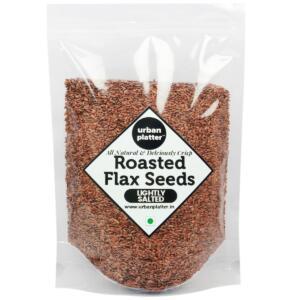 Urban Platter Roasted Salted Flax Seeds, 750g [Premium Quality, High Fibre, Antioxidant]