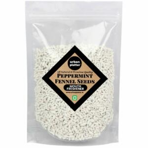 Urban Platter Peppermint Coated Fennel Seeds (Thandai Saunf), 400g