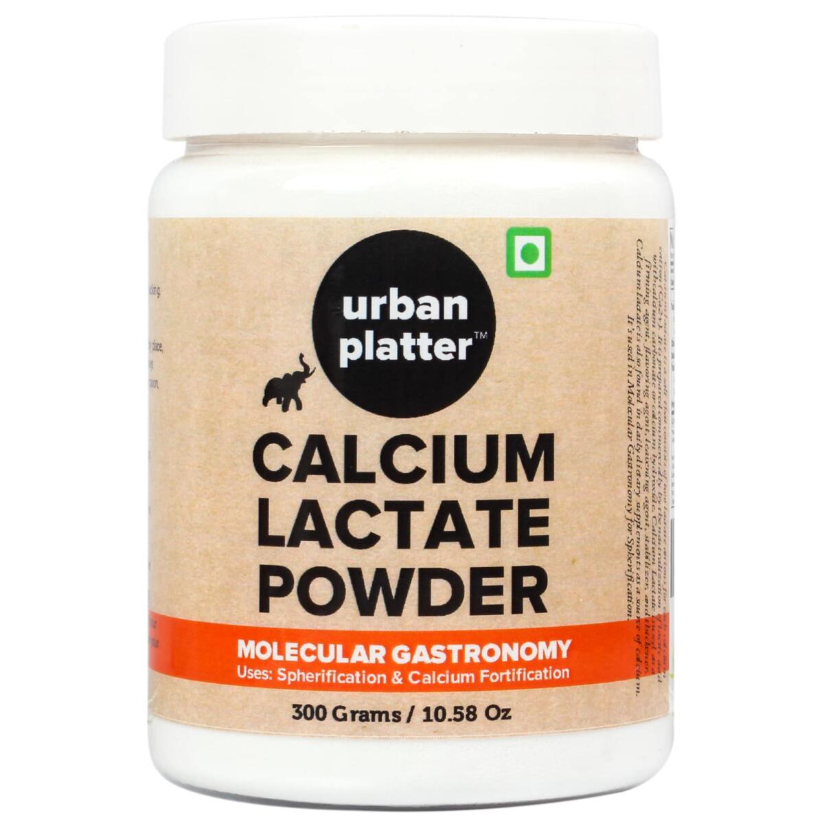 Urban Platter Calcium Lactate Powder, 300g