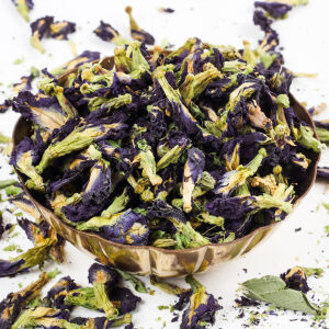 Urban Platter Blue Butterfly Pea Flower Tea, 1Kg / 35.2oz [Premium Blue Tea, Brain Stimulant, Rich in Antioxidants] [HoReCa Pack]
