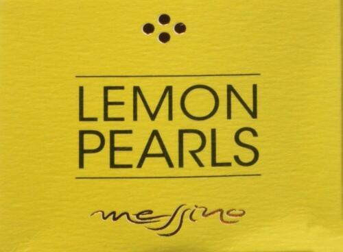Papadeas Messino Greece Lemon Pearls, 50 ML [Perfect For Salads, Sandwiches, Bruschette, Ice-cream & Cocktails]