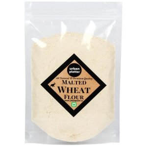 Urban Platter Malted Wheat Flour, 1Kg / 35.2oz [All Natural, Premium Quality and Dietary Fiber]