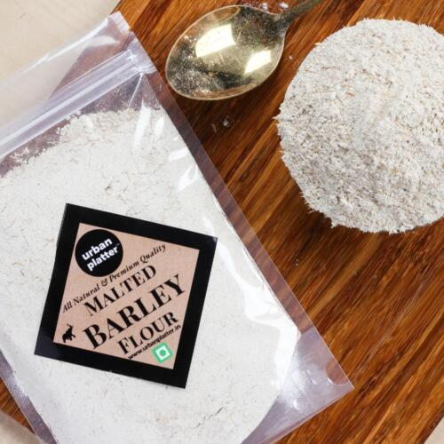 Urban Platter Diastatic Malted Barley Flour, 1Kg / 35.2oz [All Natural, Premium Quality and Baking-Friendly]