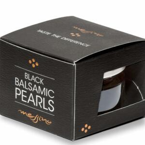 Papadeas Messino Greece Balsamic Pearls, 50 ML [Perfect For Salads, Sandwiches, Bruschette, Ice-cream & Cocktails]
