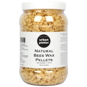 Urban Platter Natural White Beeswax Pellets, 700g