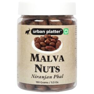 Urban Platter Malva Nuts, 150g / 5.3oz [Niranjan Phal, Premium Quality, Relieve Sore Throats]
