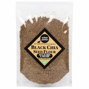 Urban Platter Black Chia Seed Flour, 400g / 14.1oz [Premium Quality, Rich in Fiber and Protein]