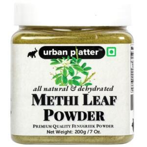Urban Platter Methi Leaf Powder, 200g / 7oz [Dehydrated, Fenugreek Powder, Aromatic]