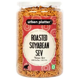Urban Platter Roasted Soyabean Sev (Soya Sev), 300g / 10.5oz [Crunchy, Spicy, Delicious]