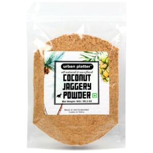 Urban Platter Organic Coconut Jaggery Sugar Powder, 1Kg [HoReCa Pack]