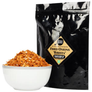 Urban Platter Fried Onions 'Birista', 900g / 31.7oz [Crispy, Crunchy and Golden Fried in Sunflower Oil]