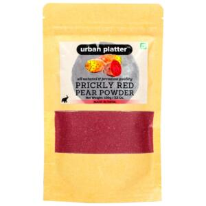 Urban Platter Prickly Red Pear Powder, 100g / 3.5oz [All Natural, Premium Quality]