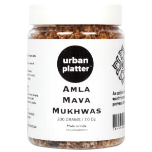 Urban Platter Amla Mava Mukhwas, 250g / 8.8oz [Mouth Freshener, Digestive, After-Meal Snack]