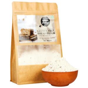 Urban Platter Gluten-Free Bread Flour, 1Kg / 35.2oz [Gluten-Free, Enriched with Oil Seeds, farine a pain sans gluten]