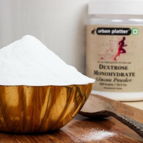 Urban Platter Dextrose Monohydrate Glucose Powder, 300g / 10.5oz [Super Refined, Sugar Alternate, Instant Energy Booster]