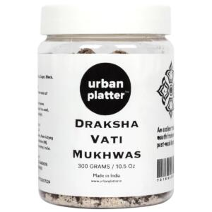 Urban Platter Draksha Vati Mukhwas, 300g / 10.5oz [Mouth Freshener, Digestive, After-Meal Snack]