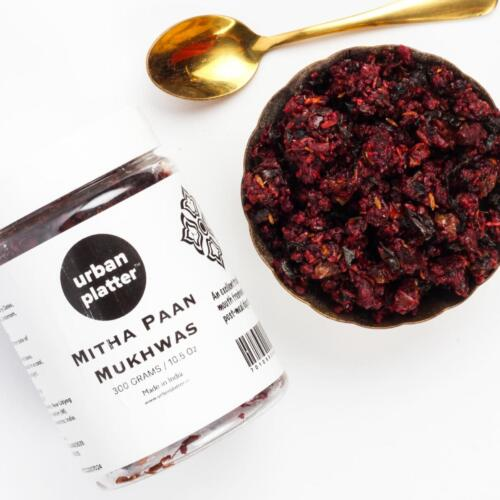 Urban Platter Mitha Paan Mukhwas, 300g / 10.5oz [Mouth Freshener, Digestive, After-Meal Snack]