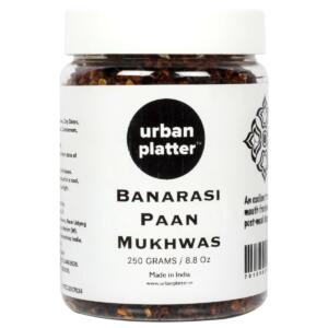 Urban Platter Banarasi Paan Mukhwas, 300g / 10.58oz [Mouth Freshener, Digestive, After-Meal Snack]