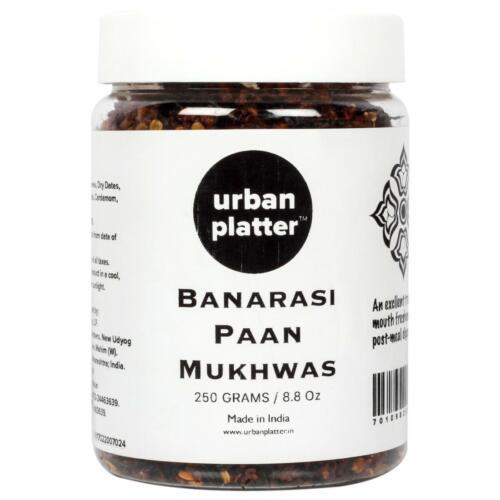 Urban Platter Banarasi Paan Mukhwas, 300g / 10.58oz [Mouth Freshener, Digestive, After-Meal Snack]