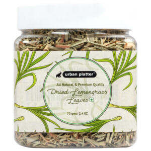 Urban Platter Dreid Lemongrass Leaves, 70g / 2.4oz [All Natural, Premium Quality, Aromatic]