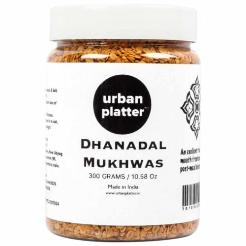 Urban Platter Dhanadal Mukhwas, 300g / 10.58oz [Mouth Freshener, Digestive, After-Meal Snack]