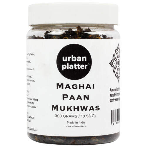 Urban Platter Maghai Paan Mukhwas, 300g / 10.58oz [Mouth Freshener, Digestive, After-Meal Snack]