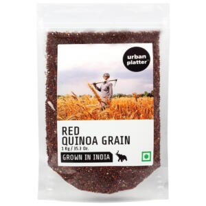 Urban Platter Red Quinoa, 1Kg / 35.2oz [All Natural, Premium Quality & Grown In India]