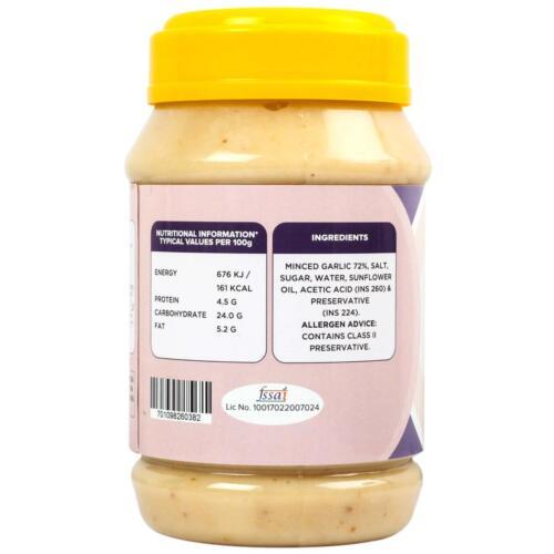 Urban Platter Garlic Paste, 1Kg / 35.2oz [All Natural, Premium Quality & Flavourful]