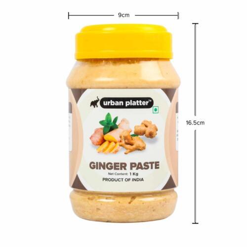 Urban Platter Ginger Paste, 1Kg / 35.2oz [All Natural, Premium Quality & Aromatic]
