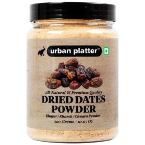 Urban Platter Dried Date Powder (Kharek Powder), 300g [All Natural, Premium Quality, Healthy Sweetener]