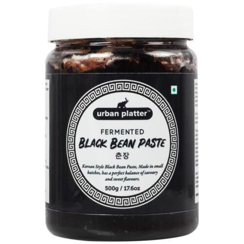 Urban Platter Fermented Black Bean Paste, 500g / 17.6oz [Chunjang, Korean Style, Savoury]