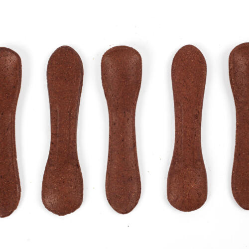 Urban Platter Mini Edible Spoons Choco Delight, Pack of 30 Spoons [Crunchy, No Added Preservative or Colour]