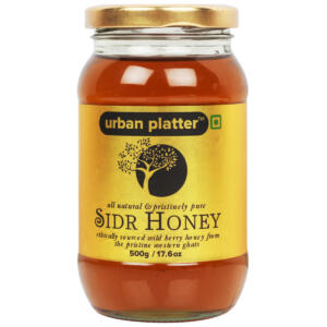 Urban Platter Sidr Honey, 500g [Ethically Sourced Wild Berry Honey from the pristine Western Ghats]