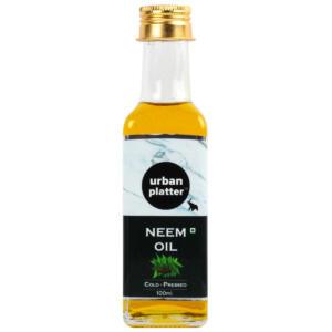 Urban Platter Neem Oil, 100ml [All Natural & Cold-Pressed, Heals & Moisturizes]