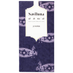 Naviluna Juniper Chocolate Bar, 60g